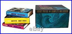 Harry Potter Bloomsbury UK Collectible Box Set ADULT Edition ALL 7 Hardcover