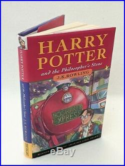 Harry Potter Book Set 1-7 First Edition Bloomsbury Ted Smart Box Set Hardback B