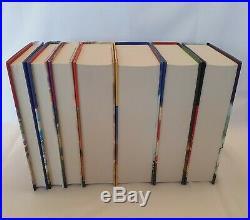 Harry Potter Books CHILDRENS EDITION 1 7 Hardcover Boxed Set RARE LOGO