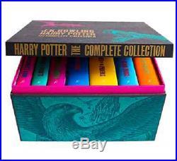 Harry Potter Box Set, Adult Hardback Edition, Complete 7 Novels, Bloomsbury UK