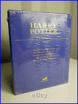 Harry Potter Box Set Books 1-5 HardBack Collectors Edition J K Rowling Deluxe