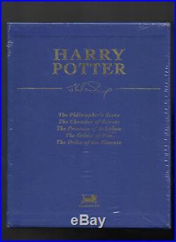 Harry Potter Box Set Books 1-5 Hard Back Collectors Edition J K Rowling