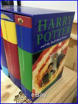 Harry Potter Box Set Hardcovers Books 1-7 Bloomsbury
