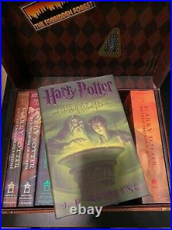 Harry Potter Box Set by Inc Staff Scholastic and J. K. Rowling (2007, Hardcover)