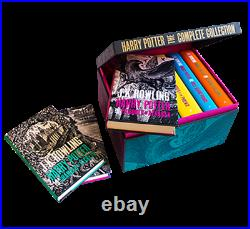 Harry Potter Boxed Set The Complete Collection/Adult Hardcover (UK Edition)