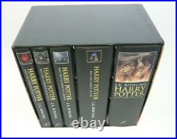 Harry Potter Boxed Set by J. K. Rowling Rare Box Set ISBN 9780747575450 (C2)