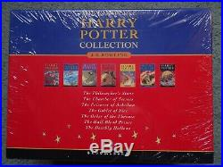 Harry Potter Children's Edition 2007 UK Hardback Book Box Set (Books 1-7)