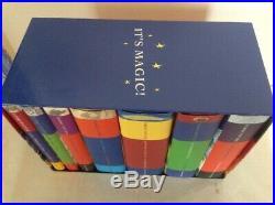 Harry Potter Classic Children's Boxset Hardback Book Box Set Slipcase Bloomsbury