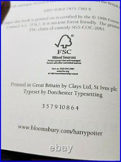 Harry Potter Complete Adult Covers Hardback Box Set J K Rowling Bloomsbury