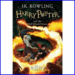 Harry Potter Complete Collection 7 Books Box Set Deathly Hallows, Goblet Of Fire