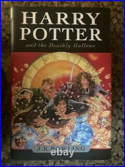 Harry Potter Complete Hardcover Set Box 1-7 Bloomsbury Raincoast JK Rowling DJ