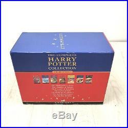 Harry Potter Complete UK Bloomsbury Original Hardback Book Box Set Slipcase
