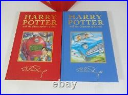 Harry Potter Deluxe Books Box Set Gold Signature Edition Hardback First Edition