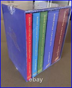 Harry Potter HC deluxe edition 5 volume box set 2003 J K Rowling