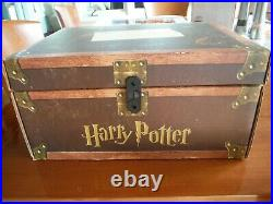 Harry Potter Hard Cover Boxed Set Books 1-7 Trunk Box -10/16/07- First Editions