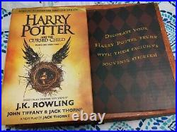 Harry Potter Hard Cover Boxed set Hardcover #1-7 + Cursed Child Total 8 Books