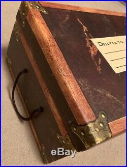 Harry Potter Hard Cover Trunk Box Set Books 1-7 1 2 3 4 5 6 7 GREAT SHAPE RARE