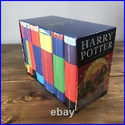 Harry Potter Hardback Book Collection Collectable Original Full Box Set 1-7 UK