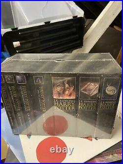 Harry Potter Hardback Books Box Set 2007 Still Sealed All Books Mint