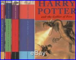 Harry Potter Hardback Box Set Four Volumes by Rowling, J. K. Book Book The Fast