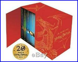Harry Potter Hardback Boxed Set The Complete Collection by J. K. Rowling Englis