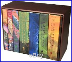 Harry Potter Hardcover Box Set by J. Rowling