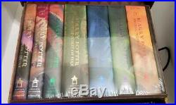 Harry Potter Hardcover Box Set in Trunk Volume 1-7 BRAND NEW SEALED RARE HTF
