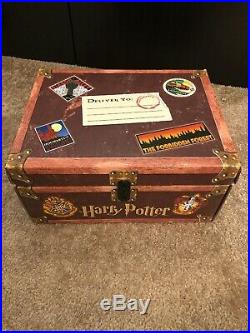 Harry Potter Hardcover Complete Box Set in Trunk Volume 1-7
