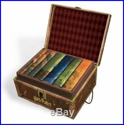 Harry Potter Hardcover Complete Collection Box Set #1-7 by J. K. Rowling English