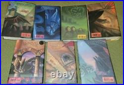 Harry Potter Hardcover Complete Collection Boxed Set Books 1-7 in Chest/Trunk