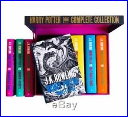 Harry Potter Hardcover UK'Bloomsbury of London' Edition Complete Series Box Set