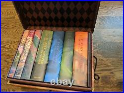 Harry Potter Limited Edition Boxed Set Hardcover Books 1-7 in Trunk/Chest NEW