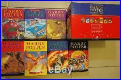 Harry Potter Original Classic Children's Books Box Set in Slipcase by Bloomsbury