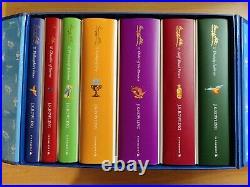 Harry Potter Signature Edition Hardback Box Set All 1st Prints Books VGC
