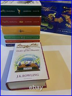 Harry Potter Signature Edition Hardcover Boxed Set Excellent Cond. 1ST EDITIONS