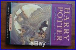 Harry Potter Trilogy Ted Smart Box Set 3 x Hardback + box 1st EDITION & PRINT