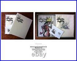 Herakut After The Laughter Book and Print Set AP Last One (soiled box)