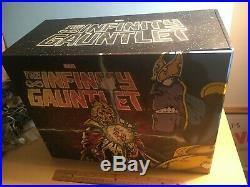 INFINITY GAUNTLET (12) Hardcover Book BOX SET Slipcase Jim Starlin