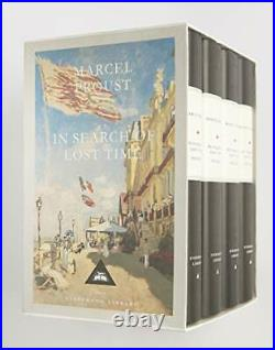 In Search Of Lost Time Boxed Set (4 Volumes) (Everyman's Library), Proust=