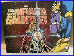 Infinity Gauntlet Box Set OOP Perfect Condition! Poster Included Still Sealed