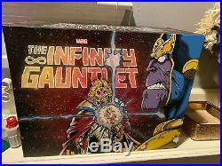 Infinity Gauntlet Box Set Slipcase (2018, Hardcover) MARVEL AVENGERS HC
