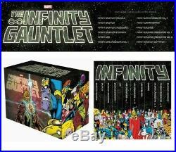 Infinity Gauntlet Box Set Slipcase New Books Graphic Novel, Hardcover, Boxed