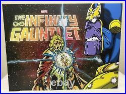 Infinity Gauntlet Hardcover (HC) Box Set Complete, Books Sealed, Pristine