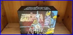Infinity Gauntlet Hardcover (HC) Box Set. Complete, books sealed and with poster