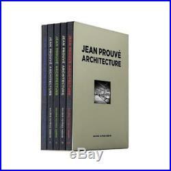 Jean Prouvé Architecture 5 Volume Box Set No. 2 by Jean Prouve Used