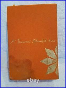 Khaled Hosseini Limted Edition Signed The Kite Runner- A Thousand Splendid Sun