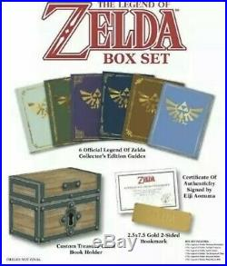 Legend of Zelda Box Set Prima Official Game Guide Collectors Edition Chest #5206