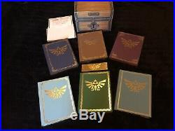 Legend of Zelda Collector's Ed. Strategy Guide Box Set Hardcover Treasure Chest