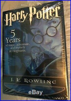 Limited Edition Harry Potter Box set 1-5 OrderPhoenix Hardback Leather Bookmark