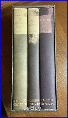 Lord of the Rings Box Set, Houghton Mifflin, 2nd Edition, 1965 Slipcase